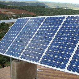 Isolado instalação fotovoltaica
