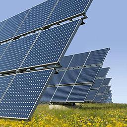 Instalação solar fotovoltaica ligada à rede