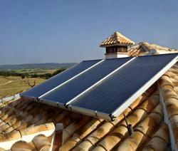 Forçado Circuito Solar Térmica